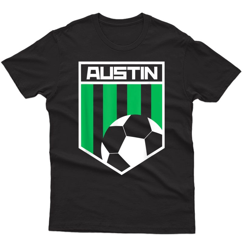 Austin Soccer Style United Football T-shirt