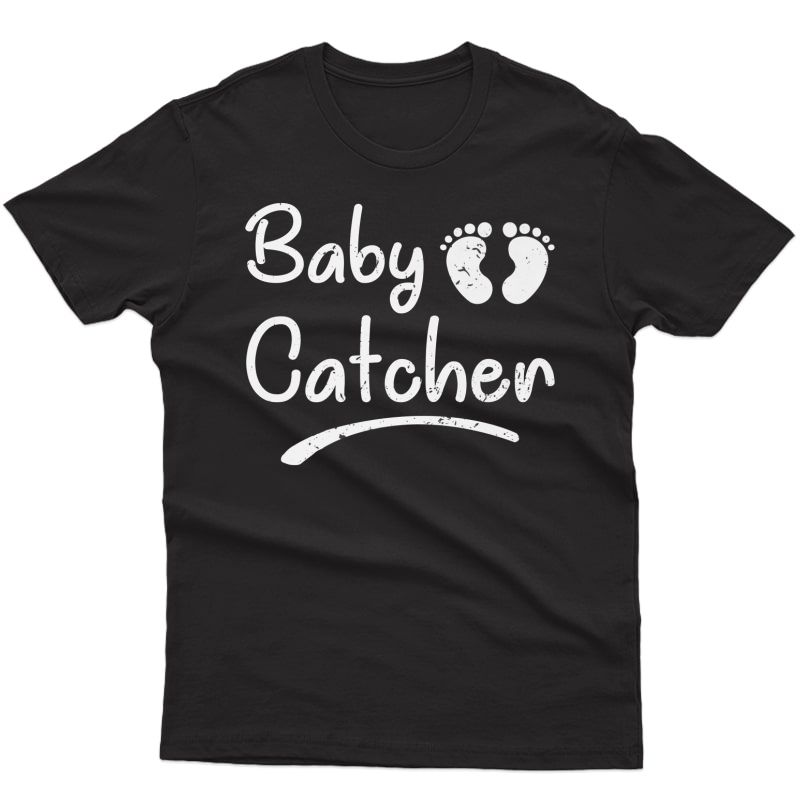 Baby Cat Funny Labor Support Doula Midwife Nurse Gift Premium T-shirt