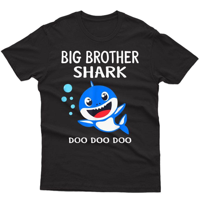 Brother Shark Doo Doo Shirt Halloween Christmas T-shirt