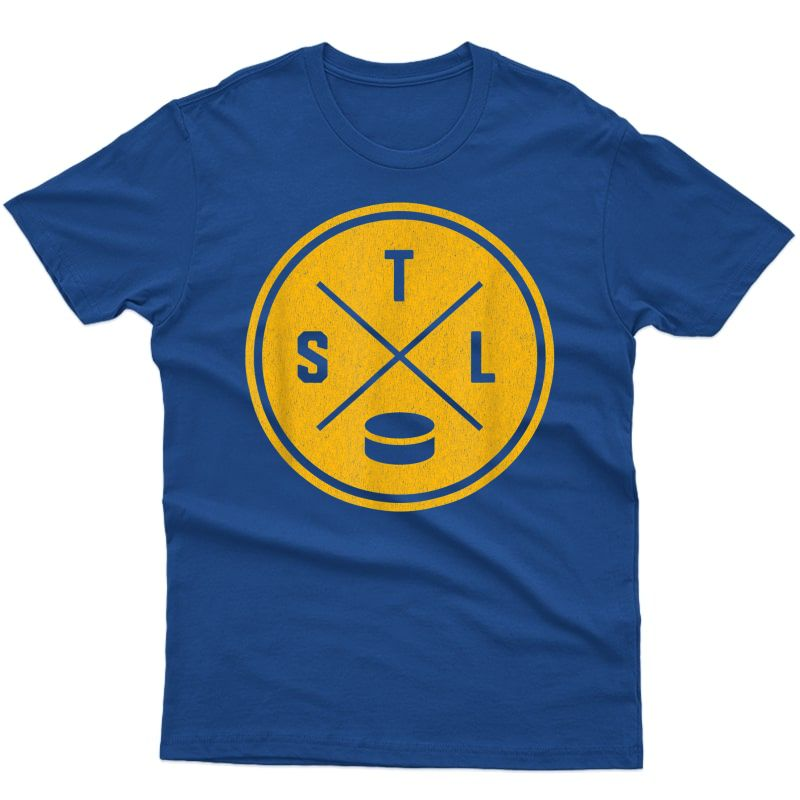 Classic St. Louis Hockey Stl Outline T-shirt