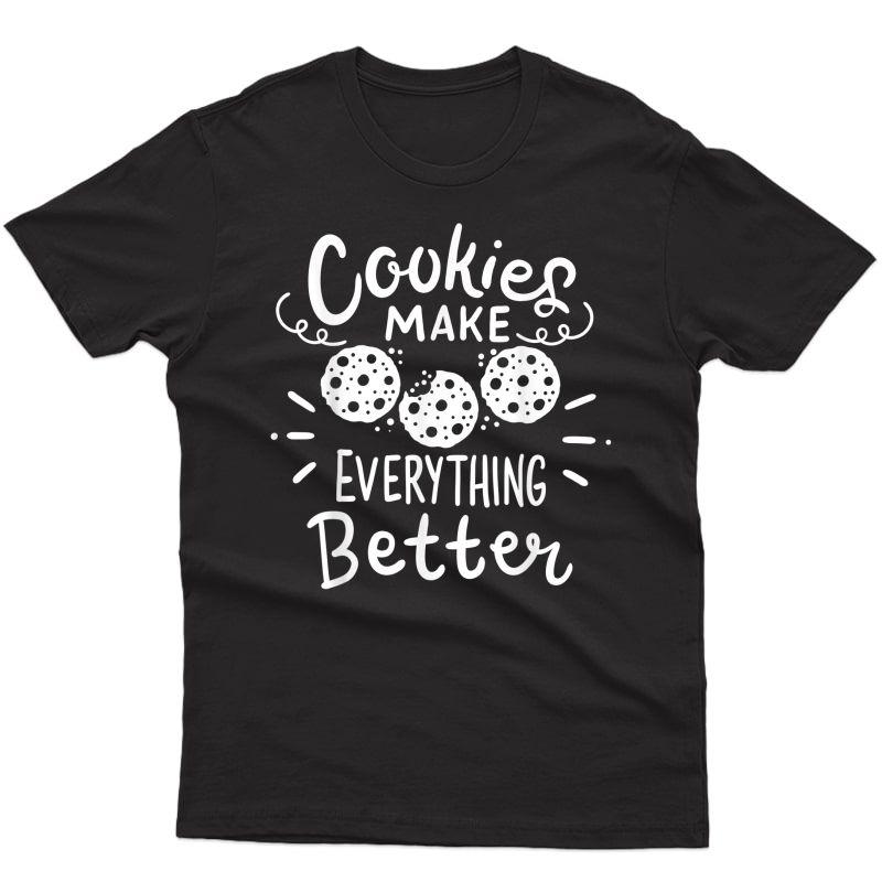 Cookie Baker Scout Baking T-shirt