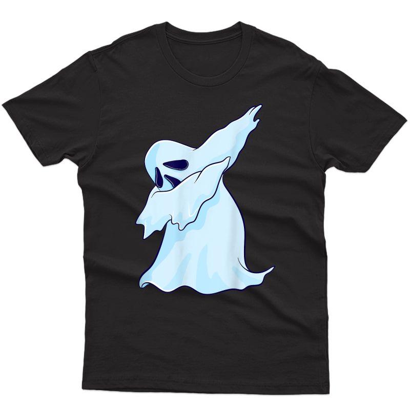 Dabbing Ghost Halloween Dance Gift Girls T-shirt