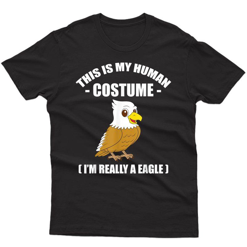 Funny Eagle Halloween Costume Tee Eagle Gift T-shirt