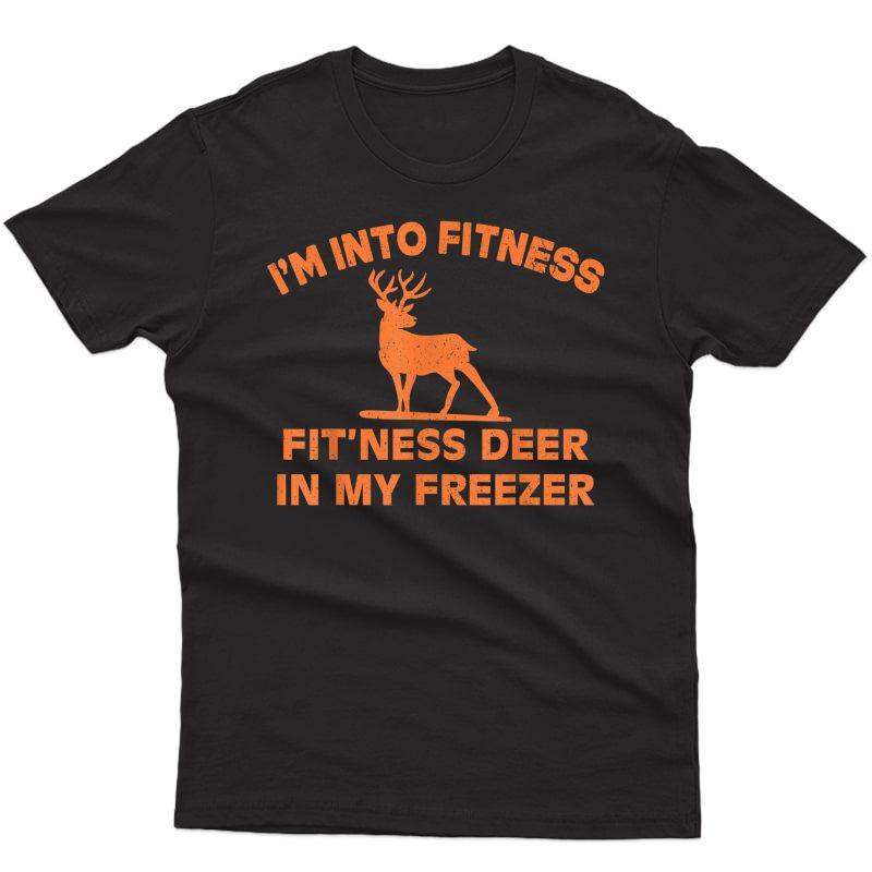 I'm Into Ness 'ness Deer In My Freezer Deer T-shirt T-shirt