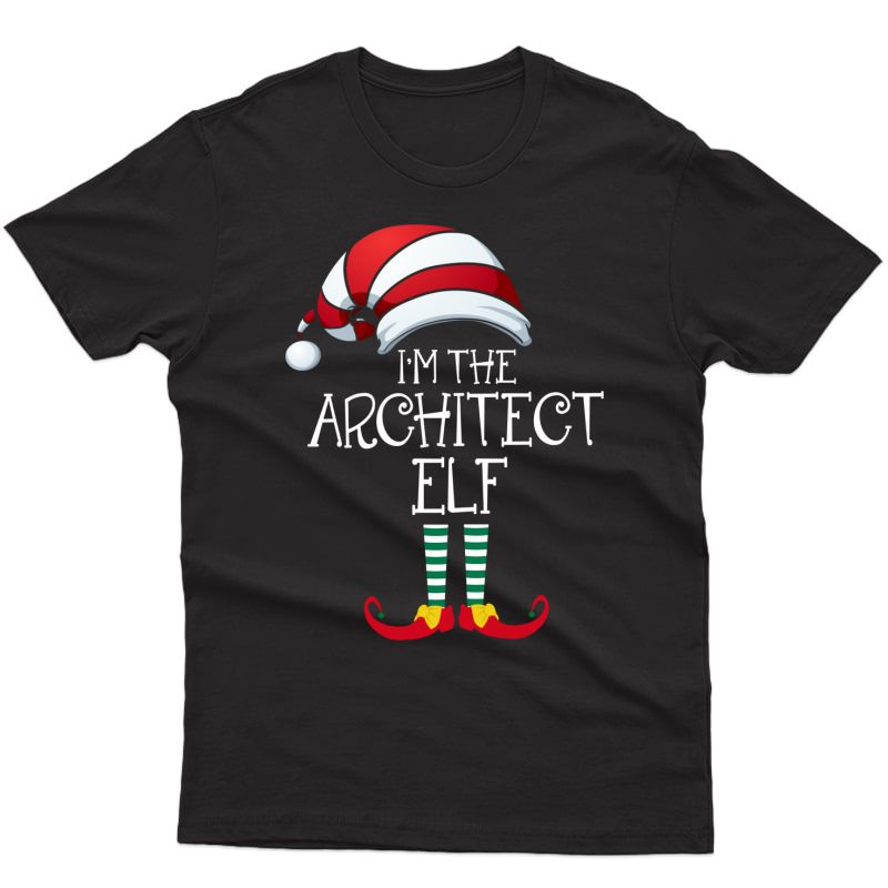 Im The Architect Elf Family Matching Christmas Gift Designer Pullover Shirts