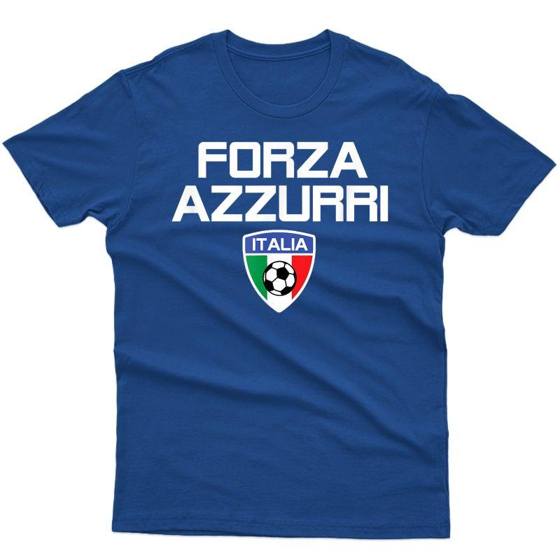Italy Soccer Style Italia Milan Roma Inter Calcio Fan T-shirt