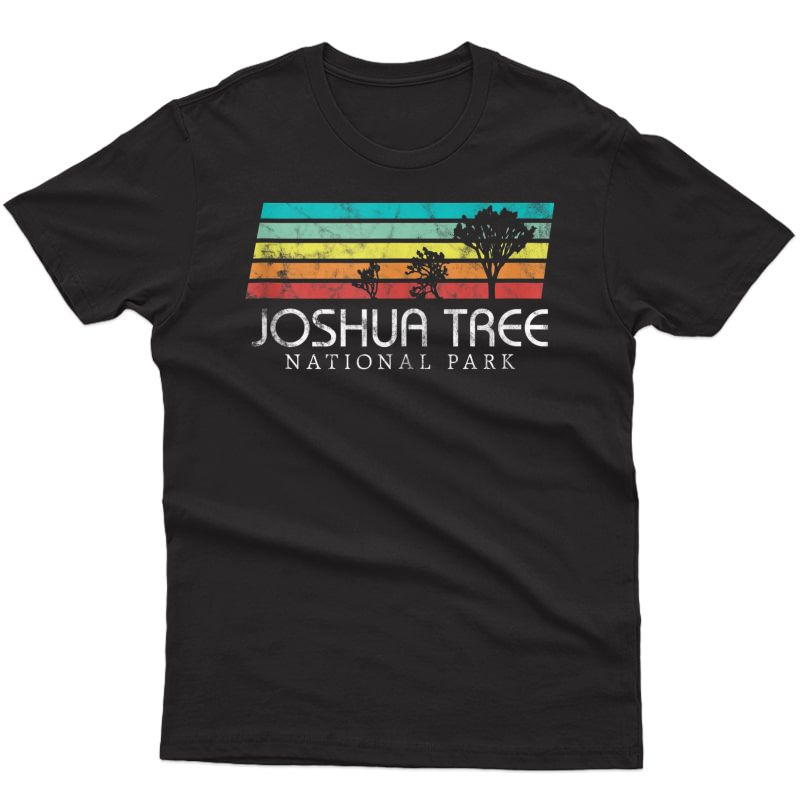 Joshua Tree Desert Vintage Retro Outdoors Camping T-shirt Tank Top