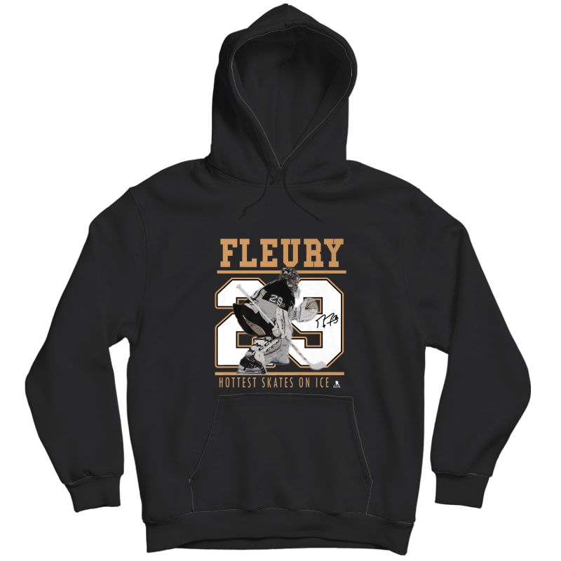 Marc-andre Fleury Las Vegas Knights Hockey T-shirt - Apparel Unisex Pullover Hoodie