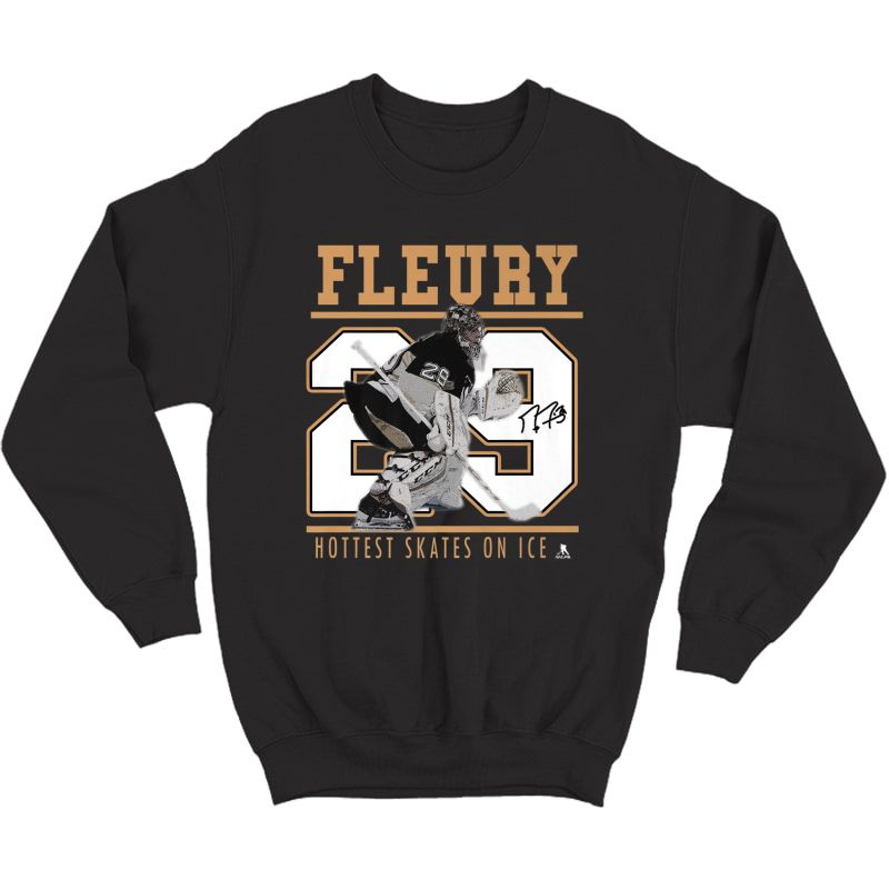 Marc-andre Fleury Las Vegas Knights Hockey T-shirt - Apparel Crewneck Sweater