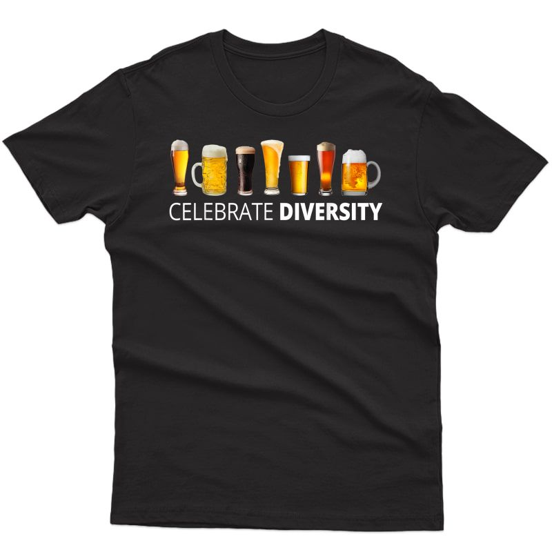 S Celebrate Beer Diversity Craft Drinking T-shirt Gift