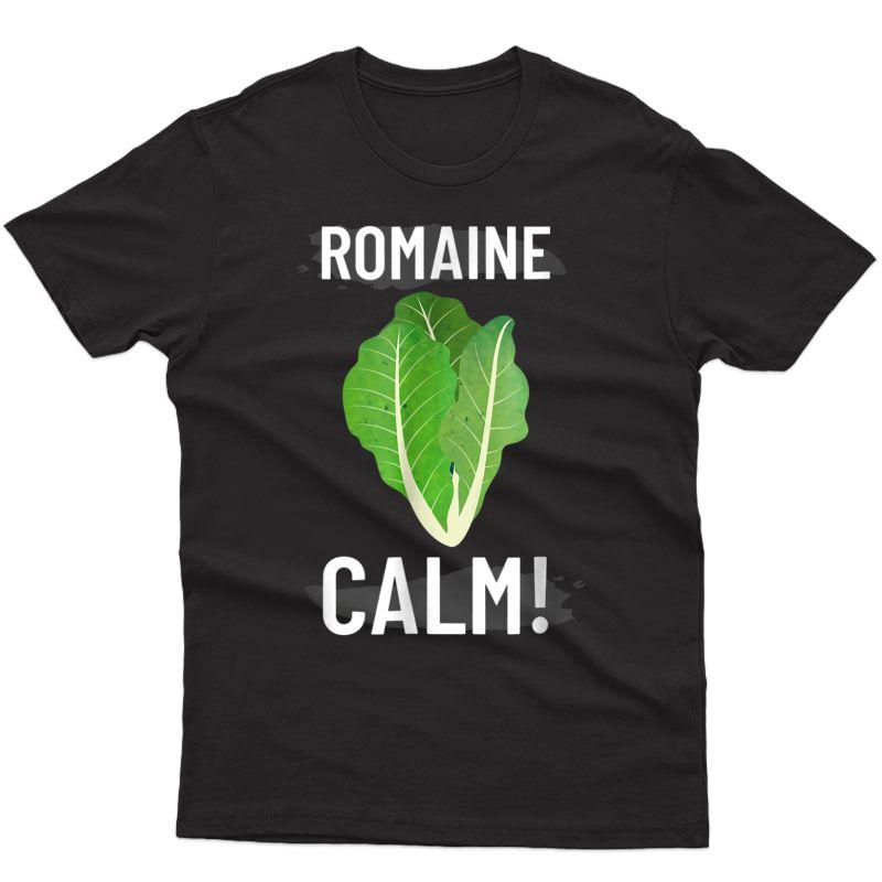 Romain Calm Funny Cooking T Shirt
