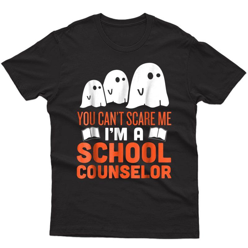 School Counselor - Halloween Ghost T-shirt