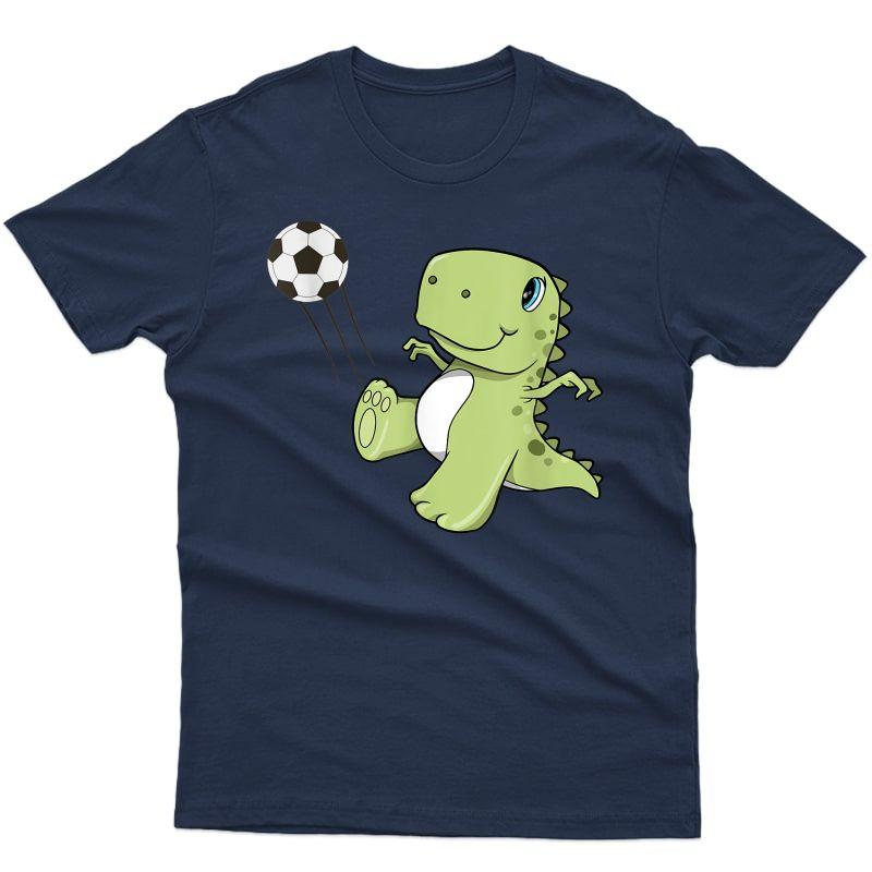 T-rex Soccer Player T-shirt