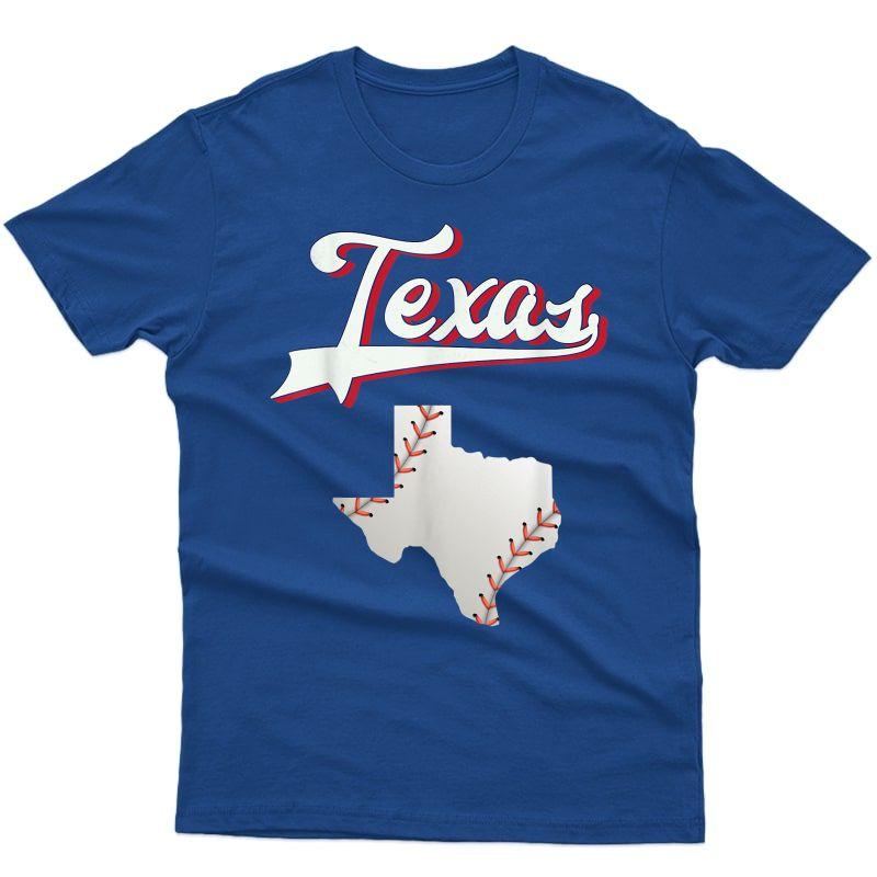Texas Baseball Game Day Vintage Ranger T-shirt