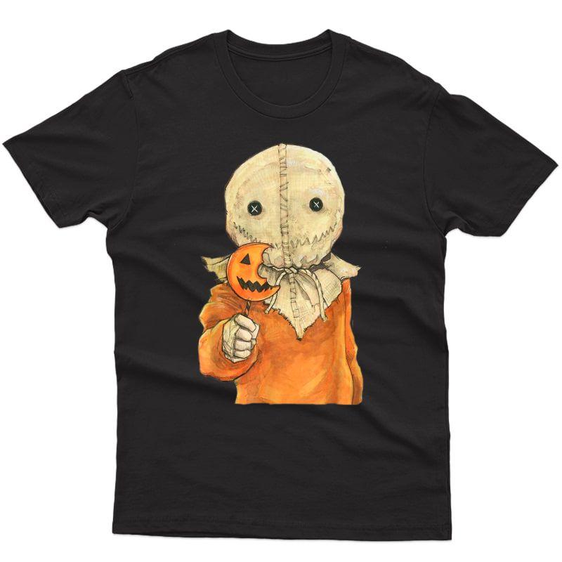 Trick R Treat Funny Cute Sam Halloween 2019 Costume T-shirt