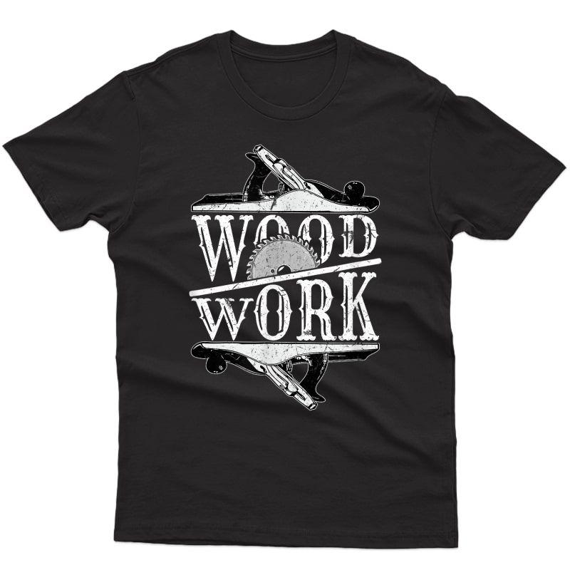 Vintage Carpenter Shirt Funny Wood Working Gift Christmas